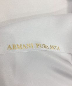 Armani Reine Seide Grau