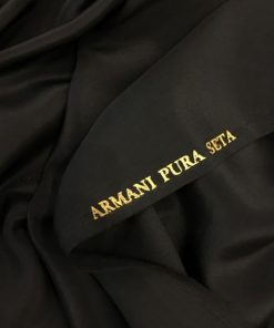 Armani Pure Seidenschwarz