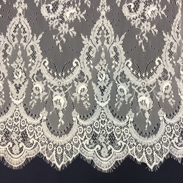 French Coupon Lace Off White