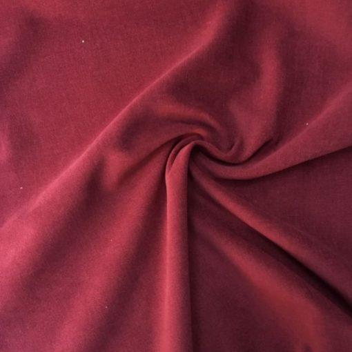 Baumwollsamt Polsterstoffe Wein Rot 2