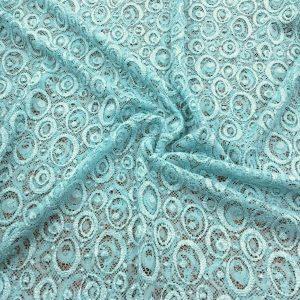 Lace Fabrics Light Blue