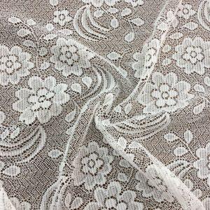 Lace Fabrics White