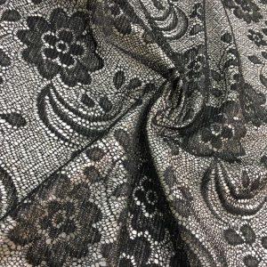 Lace Fabrics Silvery