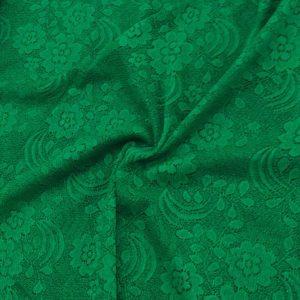 Lace Fabrics Green
