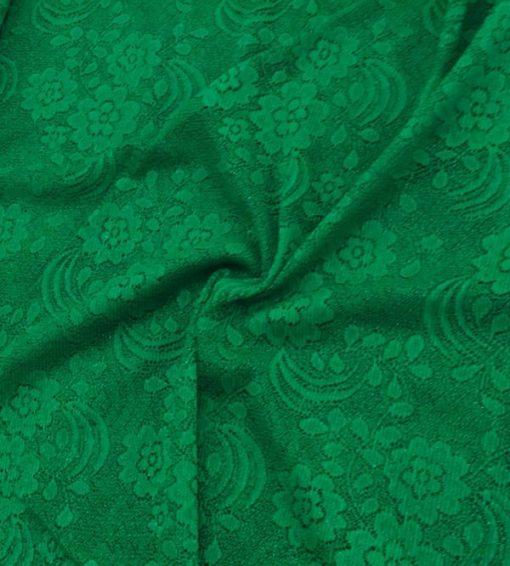 Spitze Stoffe Grün