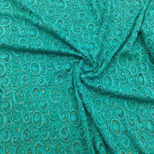 Lace Fabrics Light Green