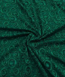 Spitze Stoffe Smaragd