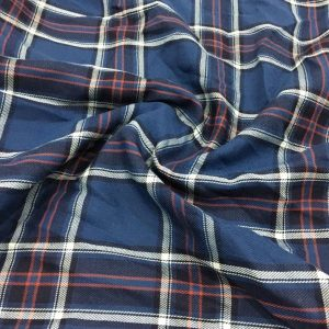 Patterned Voile Plaid