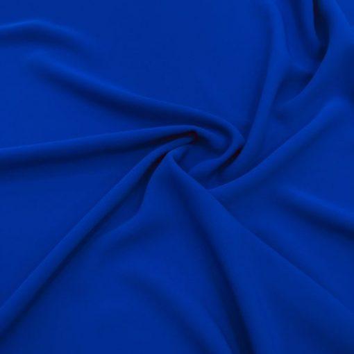 Doppel Italienischer Krepp Dunkel Blau