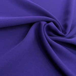 Double Italian Crepe Dark Purple