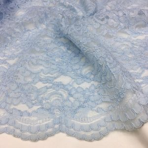 Guipure Baby Blue