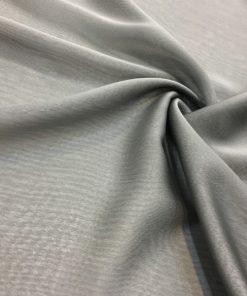 Iridescent Chiffon Silver Grey
