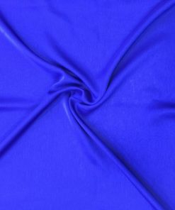 Iridescent Shawl Saxe Iridescent Chiffon Reflex Blue