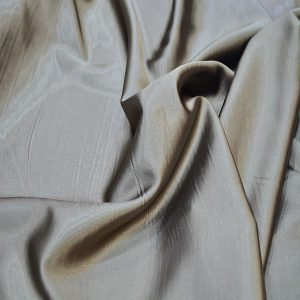 Satin Lycra Fabric Mink Brown