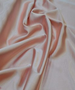 Satin Lycra Fabric Melon