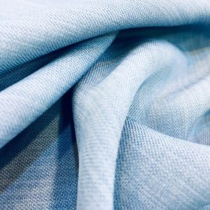 Linen Crepe Baby Blue