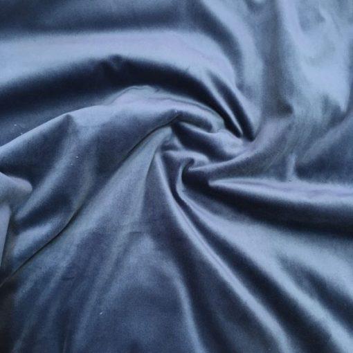 Upholstery Cotton Valvet Navy