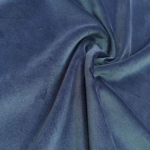 Upholstery Cotton Valvet Navy Blue