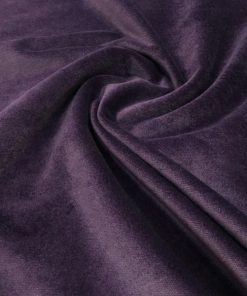 Upholstery Cotton Valvet Purple