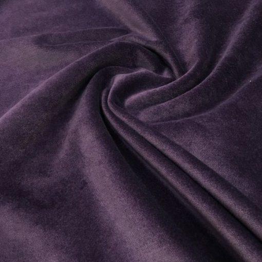 Upholstery Cotton Valvet Purple