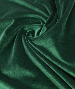 Upholstery Cotton Valvet Emerald