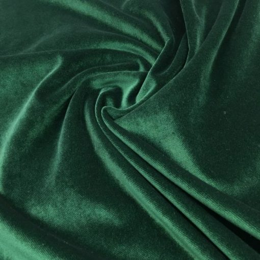 Upholstery Cotton Valvet Emerald
