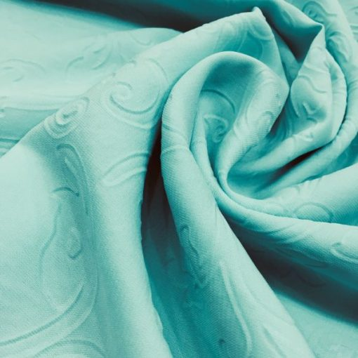 Medina Silk Shawl Water Green