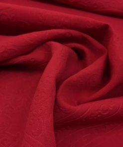 Medina Die Seide Rot Gemustert