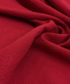 Medina Silk Shawl Red