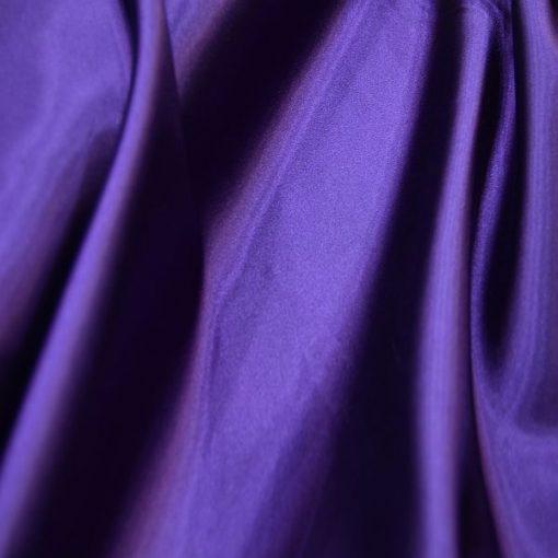 Satin Lycra Fabric Purple