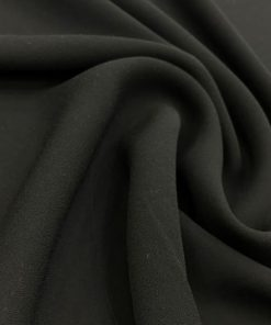 Multi Shawl Black Zara Crepe Chiffon Black