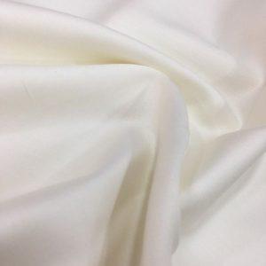 Cotton Satin Off White