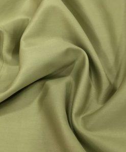 Cotton Satin Olive