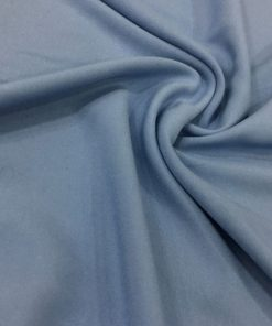 Baumwolle Viskose Indigo Blau