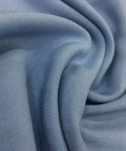 Cotton Viscose Indigo Blue
