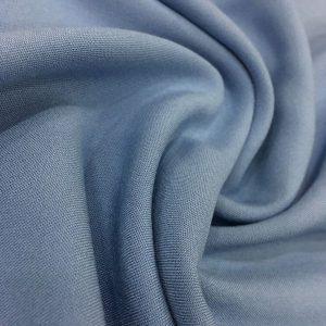 Cotton Viscose Indigo Blue