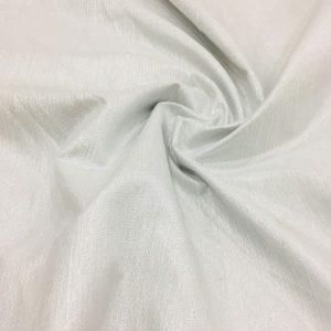 Taffeta Silvery White