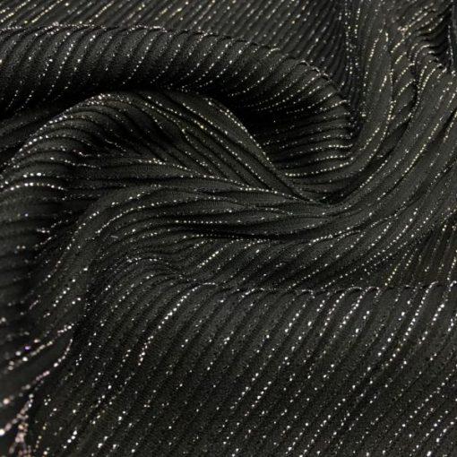Silvery Jerse Black