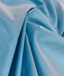 Taft Stoffe Eisblau