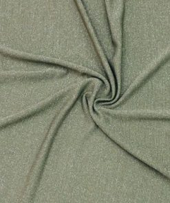 Silvery Tricot Army Green