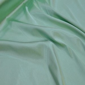 Oguz Gabardine Water Green Satin Lycra Fabric Water Green
