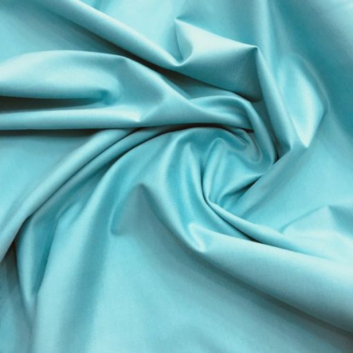 Thin Trench Coat Turquoise