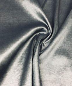 Taft Stoffe Silber Grau