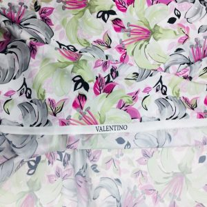 Valentino Patterned Satin 2