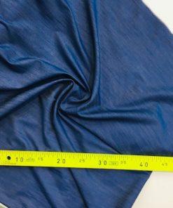 Dünner Jeansstoff Blau