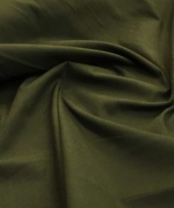 Thick Trench Coat Dark Army Green