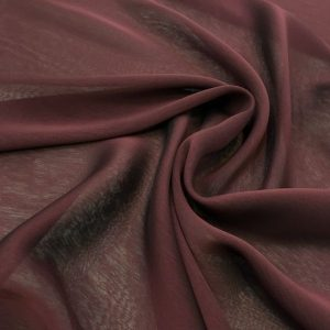 Iridescent Shawl Claret Red