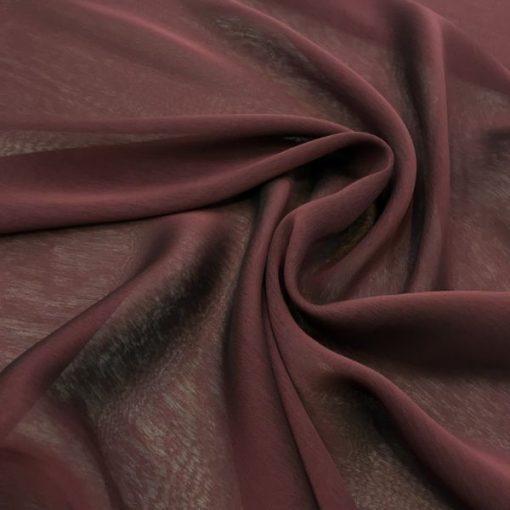 Irisierender Schal Wein Rot