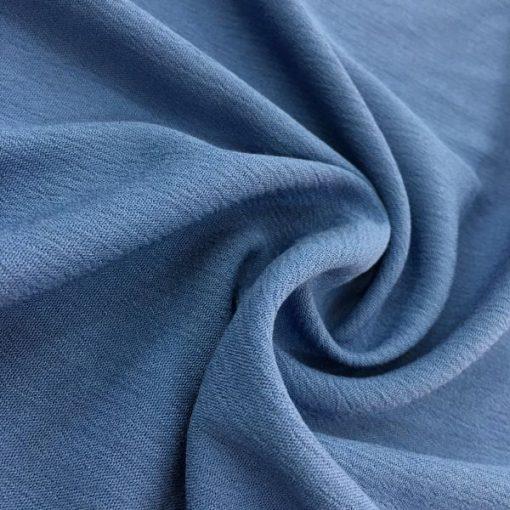 Gaze Stoffe Indigo Blau