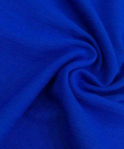 Gaze Stoffe Blau